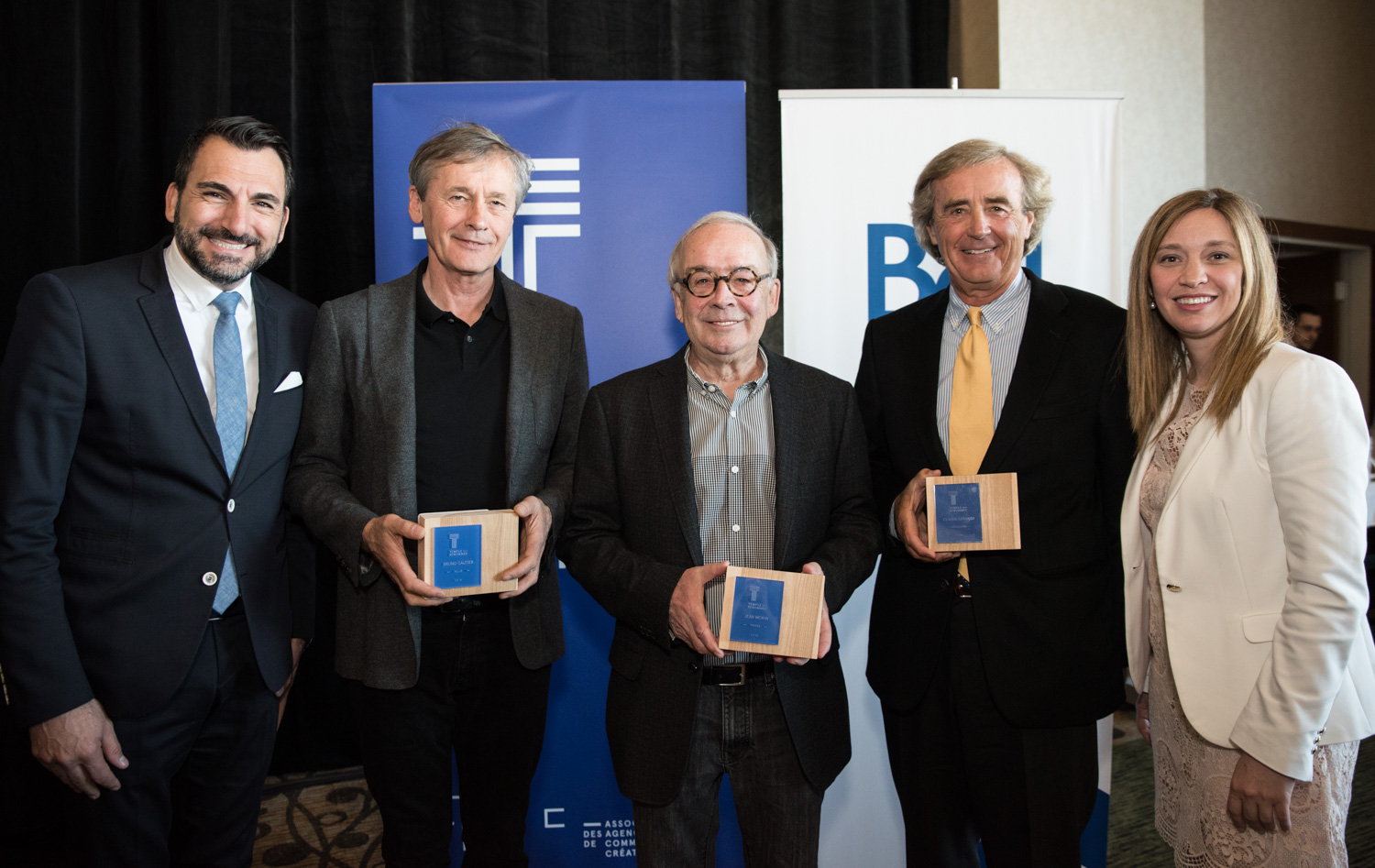 Claude Lessard, Jean Morin et Bruno Gautier inducted into the A2C Hall of Fame